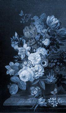 Stillleben III- Delft Blau von Marja van den Hurk