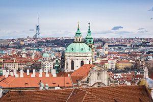 View to Prague