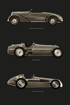 De meeste legendarische Alfa Romeo's