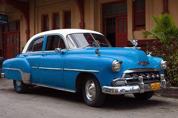 Chevrolet Bel Air, Havanna, Kuba von Henk Meijer Photography