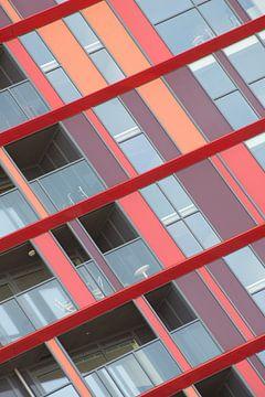 Architectuur van de Calypso in Rotterdam sur