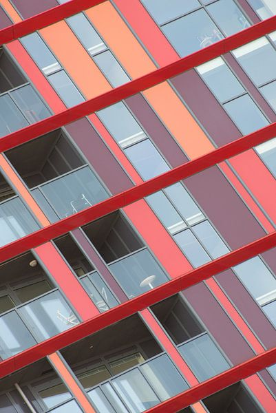 Architectuur van de Calypso in Rotterdam van Mark De Rooij