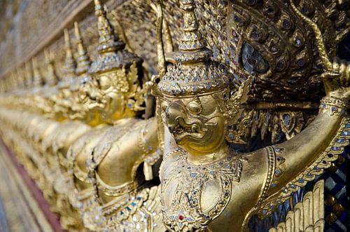 Beeldjes King's Grand Palace in Bangkok, Thailand