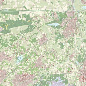 Kaart vanHaaren