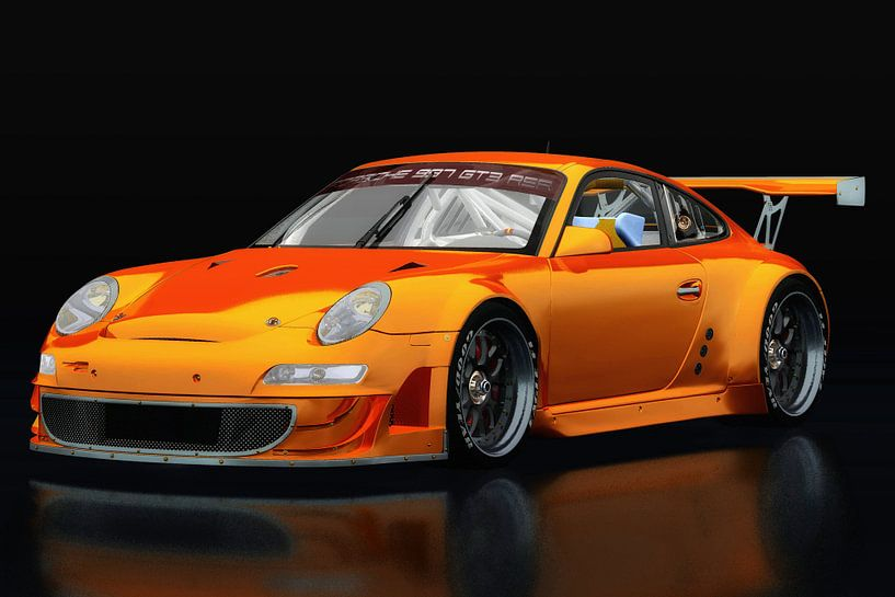 Porsche GT3 RS van Jan Keteleer