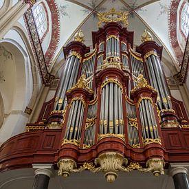 Orgel Sint-Maartenskerk Zaltbommel van Gerrit Veldman