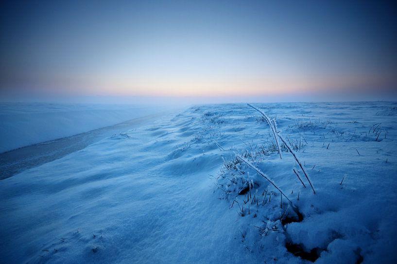 Winter in de Weipoort van Martijn van der Nat