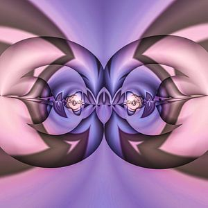 Phantasievolle abstrakte Twirl-Illustration 74/26