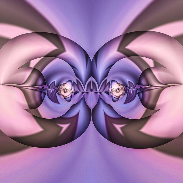 Phantasievolle abstrakte Twirl-Illustration 74/26 von PICTURES MAKE MOMENTS