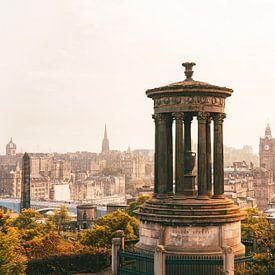 Uitzicht over Edinburgh van Niels Eric Fotografie