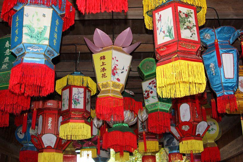 Lantaarns, China van Inge Hogenbijl