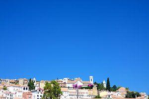 Lissabon uitzicht op de stad