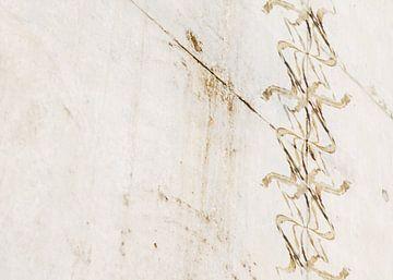 Versierde muur van Akira Peperkamp