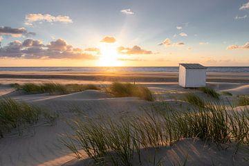 Sonnenuntergang Oostkapelle von Thom Brouwer