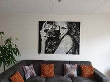 Klantfoto: SNAP HAPPY van LOUI JOVER, op canvas