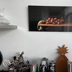 Photo de nos clients: Still life plums sur Monique van Velzen, sur aluminium