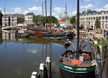 Oude haven van Gouda von Jan Kranendonk