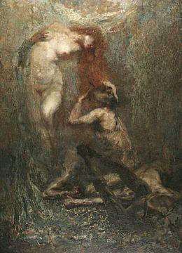 Giuseppe Amisani, La culla trágica - 1910 von Atelier Liesjes