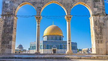 Felsendom, Jerusalem von Jessica Lokker