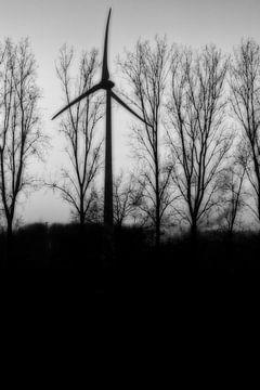 Mystische Windmühle von Faucon Alexis