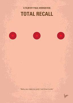No097 My Total Recall minimal movie poster van Chungkong Art