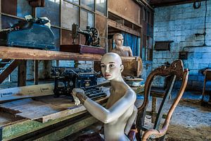In de timmerfabriek - I