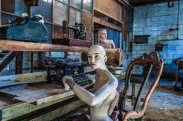 In de timmerfabriek - I van Anjolie Deguelle