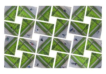 Menschen von oben (Collage-Fotos) von Marcel Kerdijk