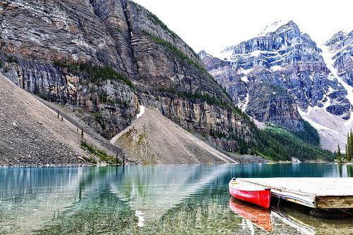 At Moraine Lake ...... van