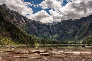 Avalanche Lake sur