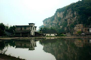 Huis op Chinese platteland van André van Bel