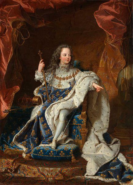 Louis XV als kind, Hyacinthe Rigaud - ca. 1716 van Het Archief