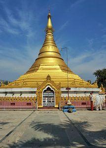 Tempel in Lumbini, Nepal