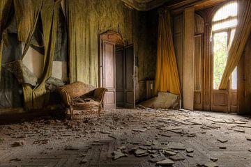 eenzame zetel van Kristof Ven