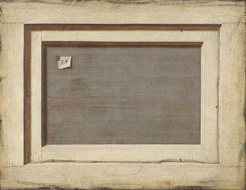 Trompe l'oeil. Die Rückseite eines gerahmten Gemäldes, Cornelis Norbertus Gysbrechts