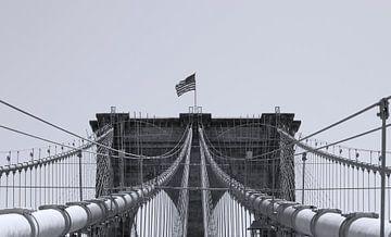 Brooklyn-Brücke New York City von Marcel Kerdijk