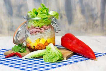 Déjeuner dans un verre sur Angelika Stern