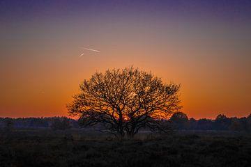 Ondergaande zon van Tonny Eenkhoorn- Klijnstra