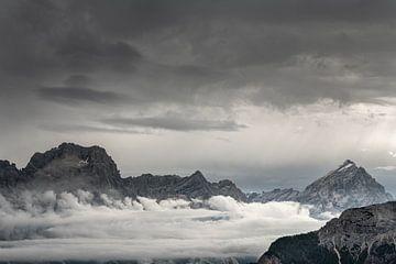 Ganz im Zen zwischen Himmel und Erde von Gerry van Roosmalen