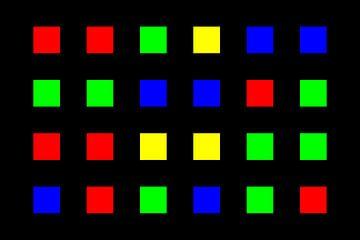 Nested | Center | 06x04 | N=01 | Random #03 | RGBY van Gerhard Haberern