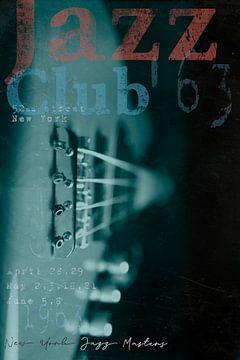 Jazz Club 63 van Bert-Jan de Wagenaar