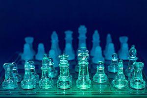 schaakstukken in kleur