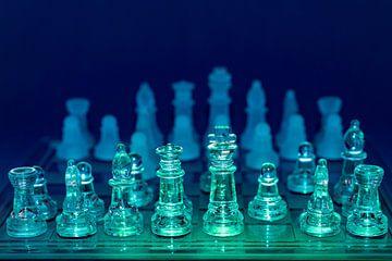 farbige Schachfiguren von John Driessen