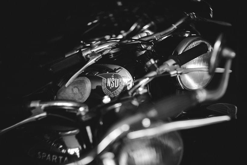 NSU oldtimer Motorfiets van Mijke Bressers