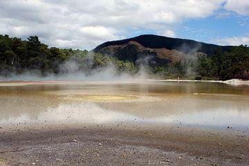 Wai-o-Tapu, Neuseeland von Jeroen van Deel