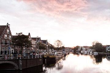 Haarlem fotografierte am Morgen von heidi borgart