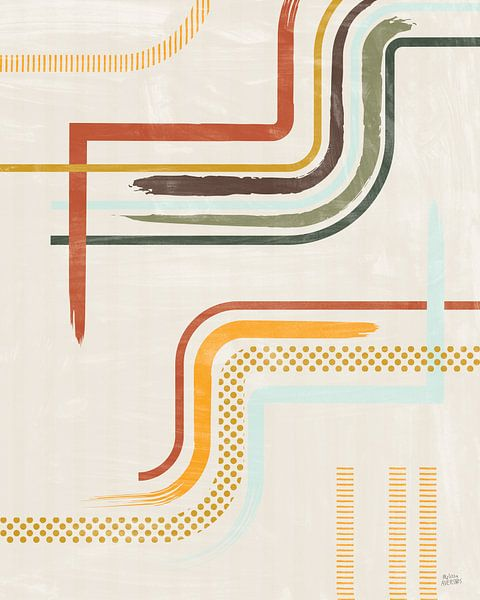 Verweilenden Linien II, Melissa Averinos von Wild Apple
