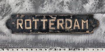 Altes Rotterdam von Martin Bergsma