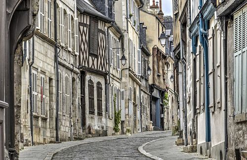 Bourges, Rue Bourbonnous sur