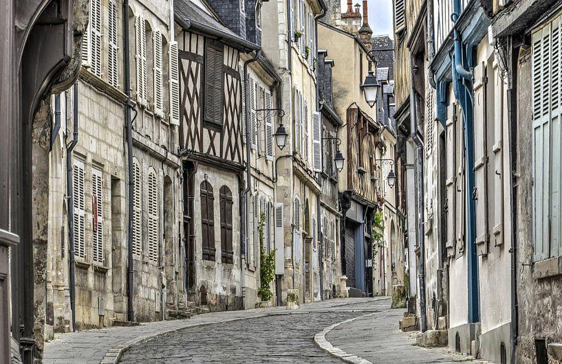 Bourges, Rue Bourbonnous van Frans Blok